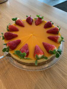 Mango American Cheesecake