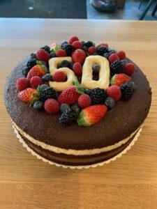 Torte zum 50igen Geburtstag